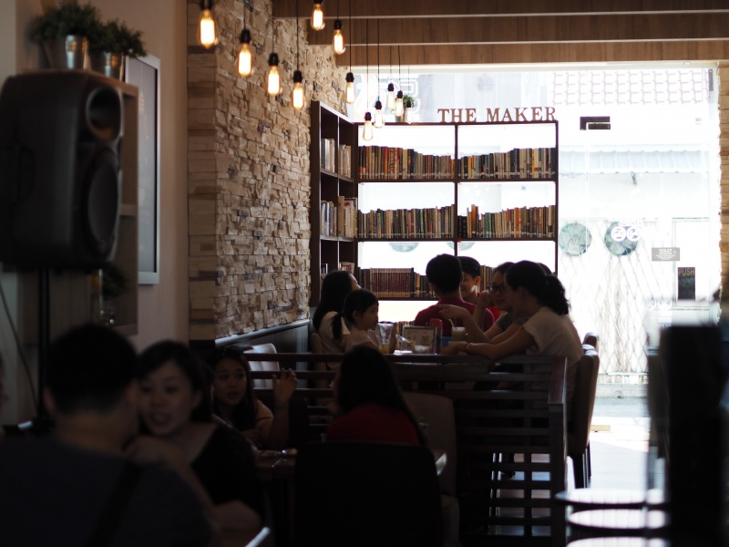 The Maker Cafe, cafe malaysia, miri cafe, cafe