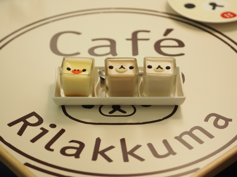 Rilakkuma Cafe in Taipei 拉拉熊咖啡廳