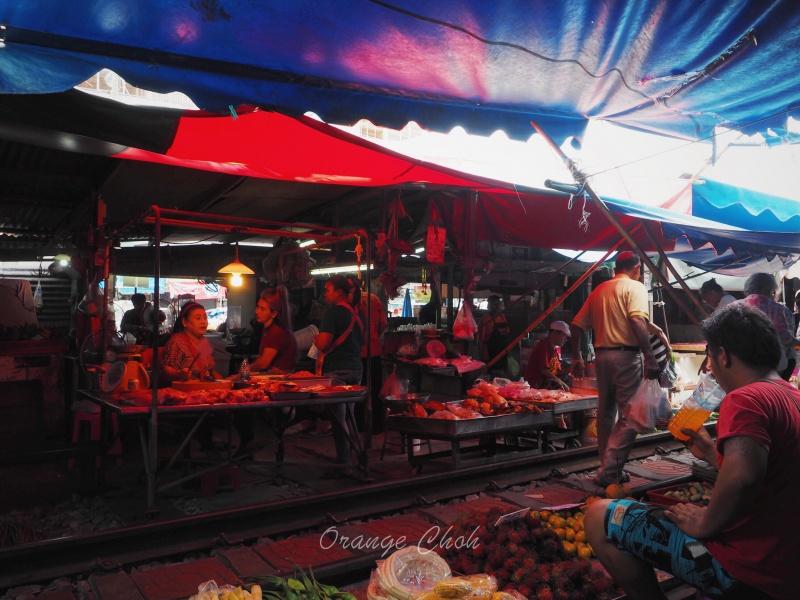 Maeklong Railway Market ตลาดแม่กลอง, Bangkok, Thailand