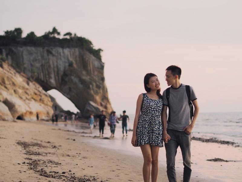 Miri Sarawak Malaysia Beach