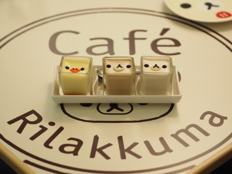 Rilakkuma Cafe in Taipei 拉拉熊咖啡廳