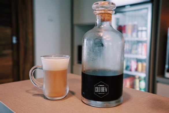 Homemade cold brew coffee, cold brew coffee, coffee, 咖啡, Orangechoh